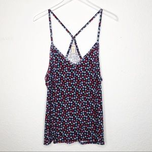 Madewell | New Floral Velvet Tank Top Size XL